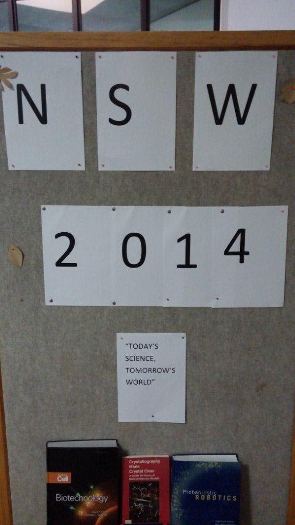 National Science Week 2014
