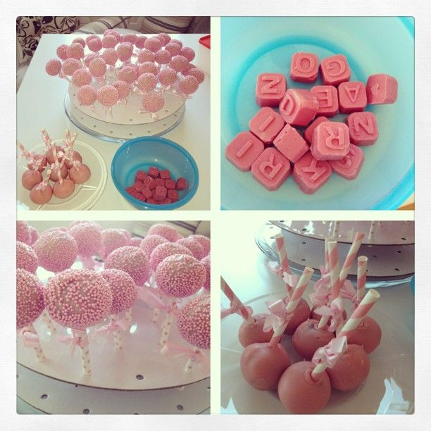 Rosa cakepops – glutenfritt » Kaos med kjærlighet