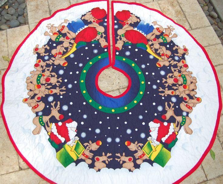 Handmade Christmas Tree Skirt