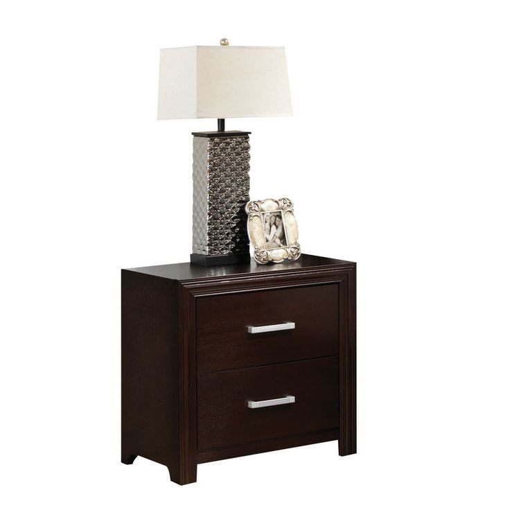 Best 25 espresso nightstand ideas on pinterest brown - Espresso brown bedroom furniture ...