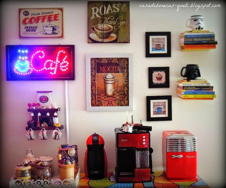 Decoração do Cantinho do Café na Cozinha!