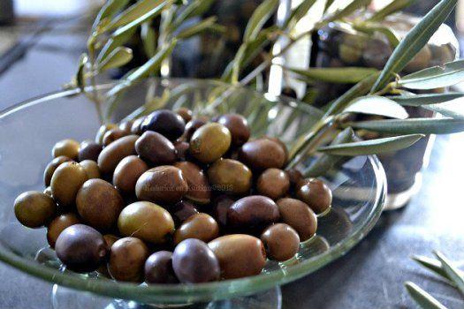 Recette des olives vertes et noires de mon jardin fait maison en saumure