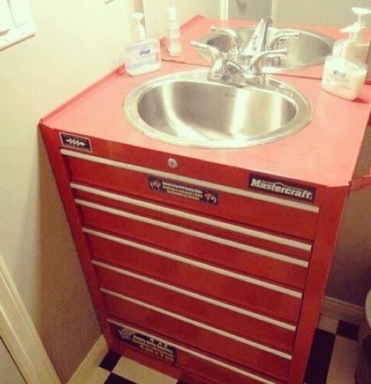 Garage Sink Unit : garage sink car garage garage plans garage laundry garage bar toolbox ...