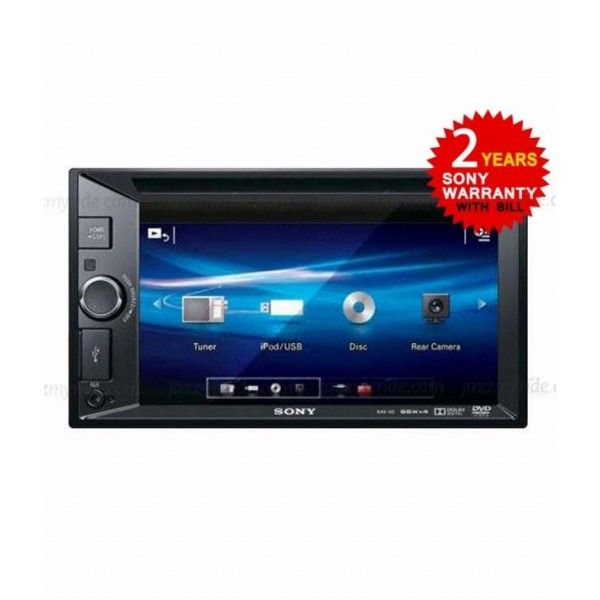 #Sony - XAV 65 by #jazzmyride The Sony - XAV 65 - Xplod In Car Visual - 6.1'' Touch Screen Monitor. Double DIN design, WVGA touch screen display, DVD/CD/VCD Player with Front USB 1-Wire input for iPod®, iPhone® and USB devices, and with Rear Camera-in.
