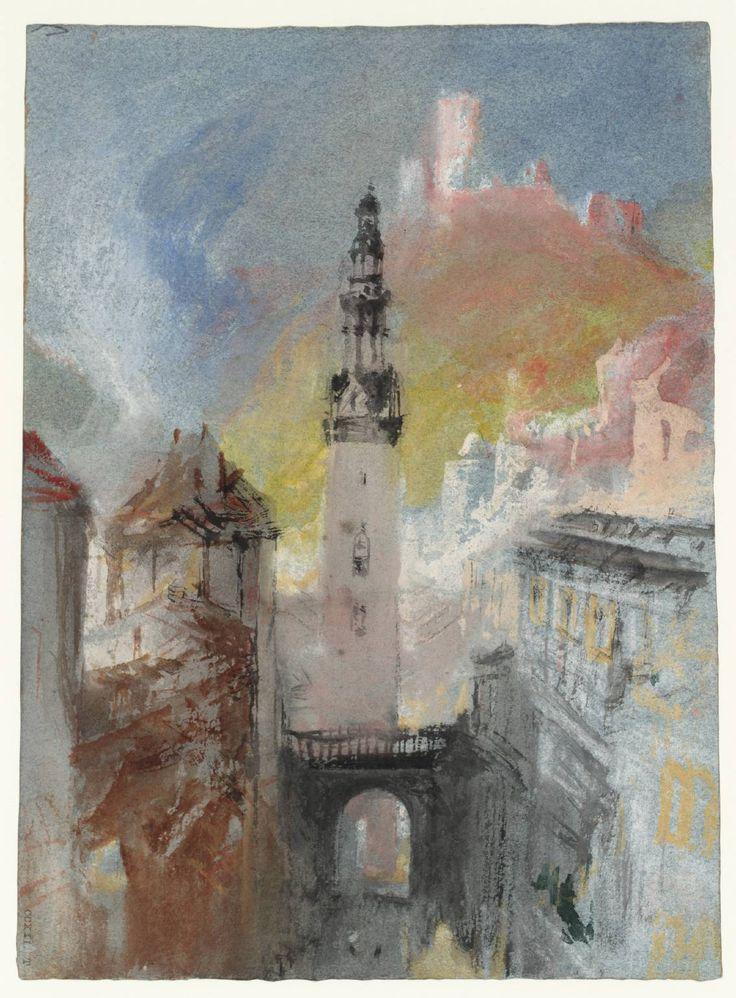 Joseph Mallord William Turner, 'St Martin's Church, Cochem' c.1839