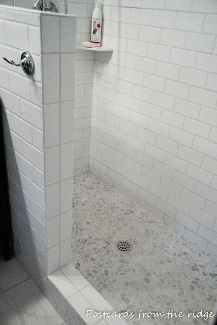 Postcards from the Ridge: Anticipation! Nearly complete master bath remodel pics