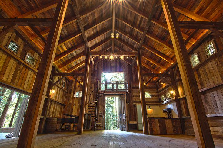 Stones & Flowers Barn Retreat   Santa Cruz Wedding Venue ($4500/day)