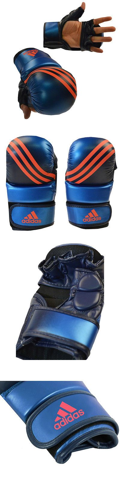 Gloves - Martial Arts 97042: Adidas Speed Mma Sparring Gloves - Metallic Blue Collegiate Navy -> BUY IT NOW ONLY: $89.1 on eBay!