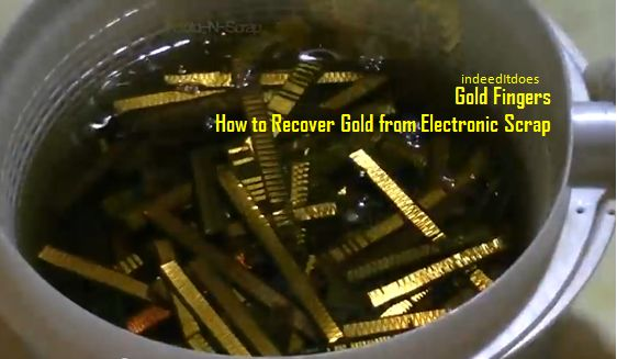 Uses For Gold Electronic : There is a lot of hidden gold in everyday electronics
