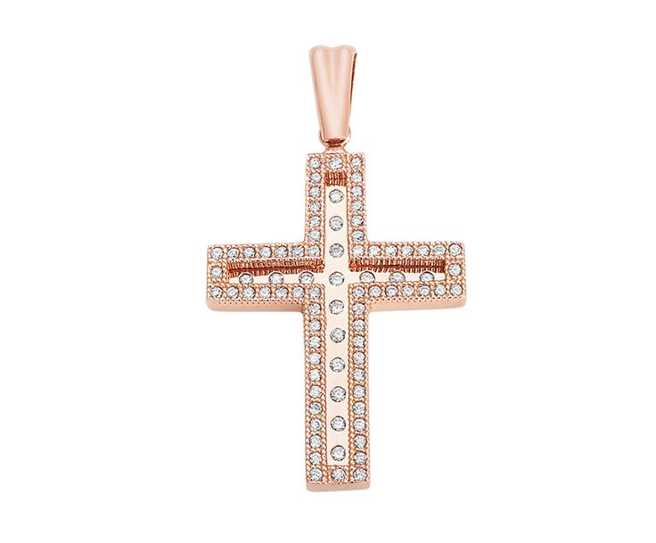 gold cross in 14K