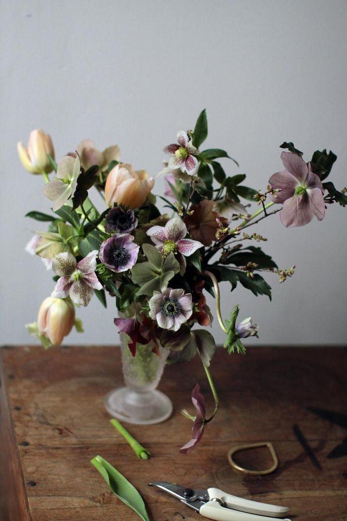 Lovely arrangement from Saipua blog