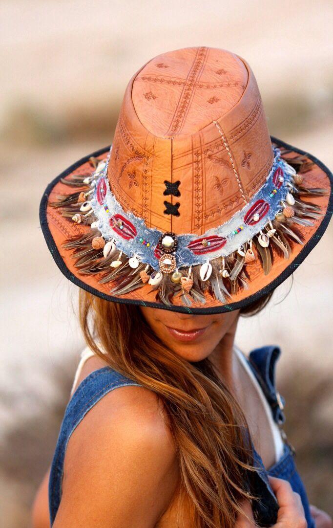 A flat pattern leather hat. #millinery #judithm #hats