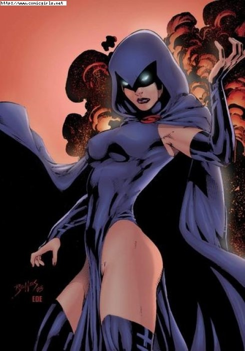 Need to cosplay Raven: Old Schools, Dc Comics, Comic Books, Comicbook, Teen Titanic Ravens, Comic Art, Super Heroes, Dc Universe, Superhero