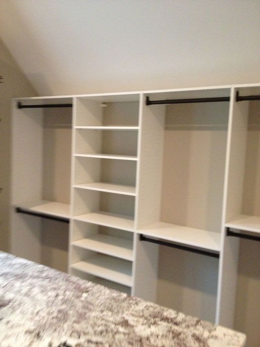 Professional Organizing Closet With sloped Ceiling | Working With Sloped  Ceilings In Decatur