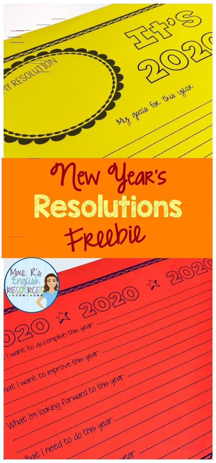 New Year S Resolutions Writing Activities For 2020 In 2020 Middle School Activities Writing Activities Christmas Reading Comprehension