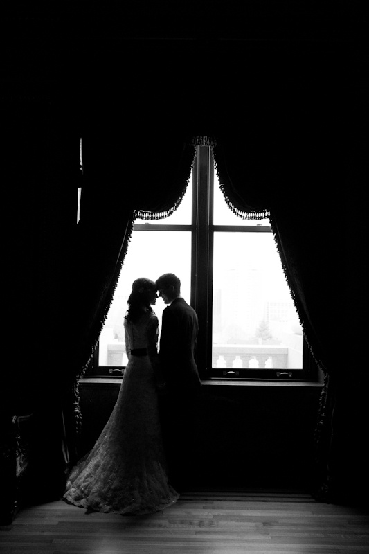 Lovely wedding couple #photography #silhouette