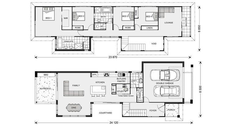 Nelson Bay 294 - Metro, Home Designs in Brisbane North & East | GJ Gardner Homes Brisbane North & East
