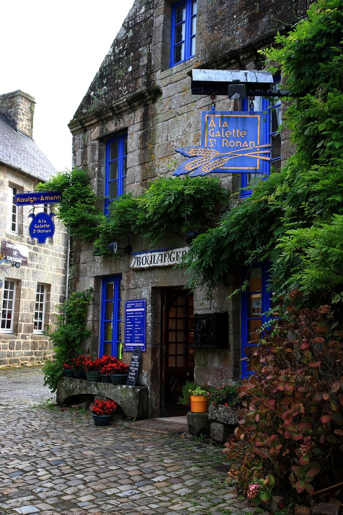 Locronan, Brittany, France.