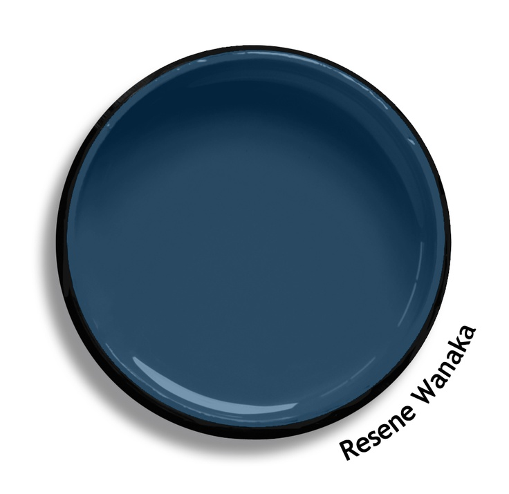 Resene Wanaka is a dark mineral blue, intrepid and cool; it has a huge personality. Try Resene Wanaka with soft fresh aquamarines, Irish greens or autumnal reds such as Resene Meltwater, Resene Limerick or Resene Bonfire. From the Resene The Range fashion colours. Latest trends available from www.resene.co.nz. Try a Resene testpot or view a physical sample at your Resene ColorShop or Reseller before making your final colour choice.