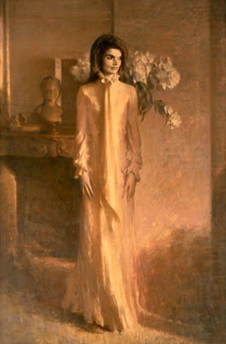 Jacqueline Kennedy Painting Vermeil Room White House