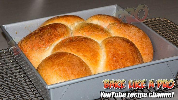Easy Amazing Dinner Rolls Recipe By BakeLikeAPro