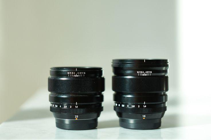 XF23mm & XF16mm