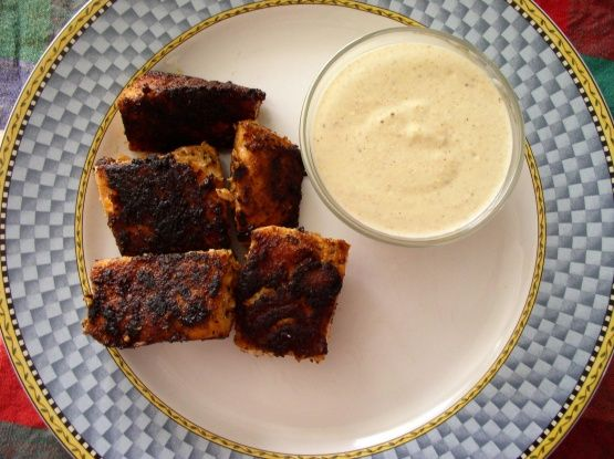 I made this for dinner tonight, oh my goodness. It was great. My guys loved lt. My husband said i need to make again and soon. He loved the sauce. Blackened Tuna Bites With Cajun Mustard Recipe - Food.com