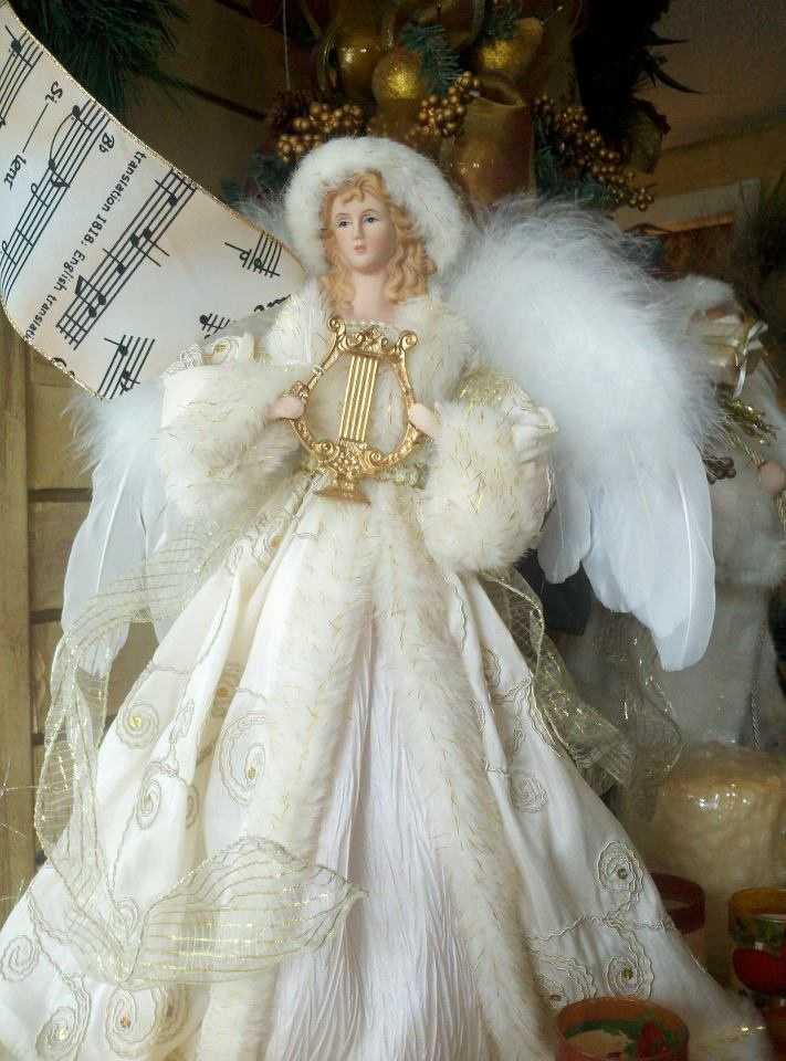 Tree Topper Angel Kathy S Holiday Christmas Pinterest