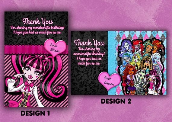 21 best Nina images – Monster High Birthday Card