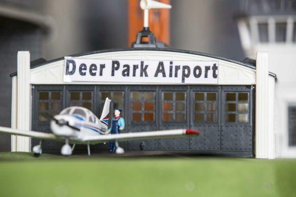 Town of Babylon History Museum Model Train Display Deer Park Airport