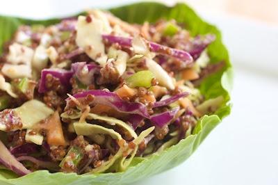 http://naturallyella.com/2010/07/24/quinoa-asian-slaw/