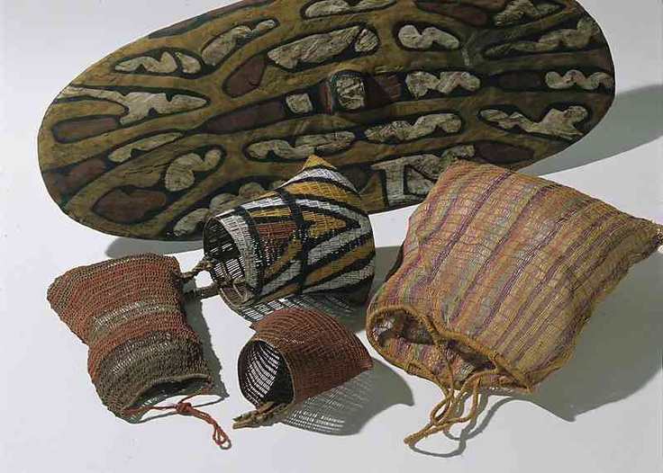 Specialist tools & utensils were very important to rainforest Aboriginal people, enabling them to use their environment's resources. Baskets were used to collect & transport wild foods. The bicornual woven baskets of rainforest Aboriginal people have a distinctive two-cornered, elongated shape. Other baskets were made to carry water, to collect honey and other wild food. The traditional Aboriginal tool kit was supplemented by unique rainforest implements and included a decorative wooden…