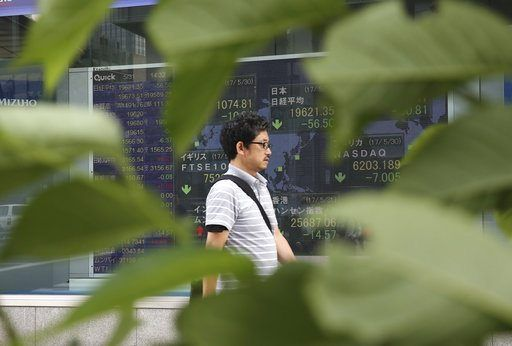 TOKYO/May 31, 2017 (AP)(STL.News) — Global stocks were mixed Wednesday as worries lingered over political uncertainty in Washington and shares drooped overnight in the U.S. while China was boosted by manufacturing data.    KEEPING SCORE: France's C...