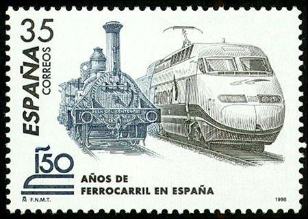 150 Aniversario del Ferrocarril Español - 1998