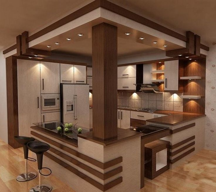 modern kitchen visualization