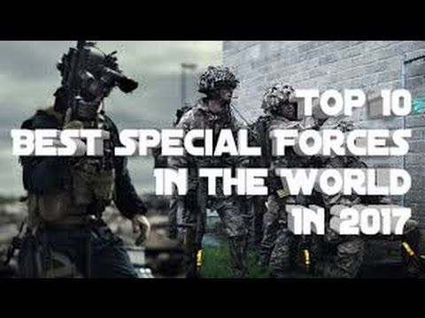 Top 10 Best Special Forces Worldwide 2017 Ranking