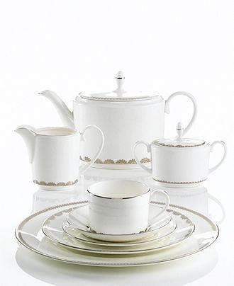 Vera Wang Wedgwood Dinnerware, Flirt Collection - Fine China - Dining & Entertaining - Macy's Bridal and Wedding Registry