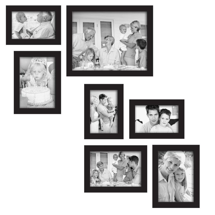 Wall Gallery Frame Set 244 best home photo wall display images on pinterest | photo wall