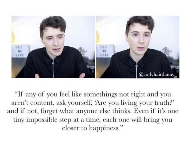 This video inspired me to think more clearly thx to Daniel I'm going through things differently and going through depression easier too!& are my heros
