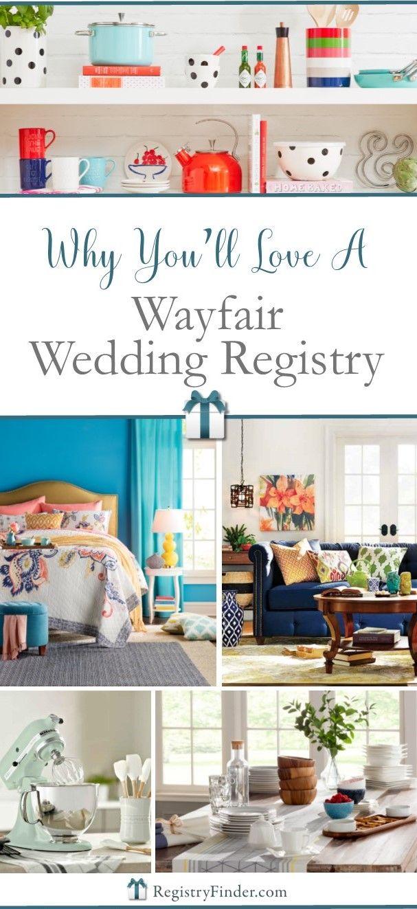 10 best wayfair wedding registry images on pinterest for Top 10 wedding registry stores