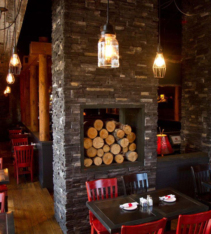 14 best Fireplace - Pro-fit Alpine Ledgeston images on Pinterest : pro com fireplace : Fireplace Design
