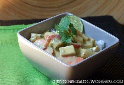 Vegetarian Thai Green Curry with Tofu