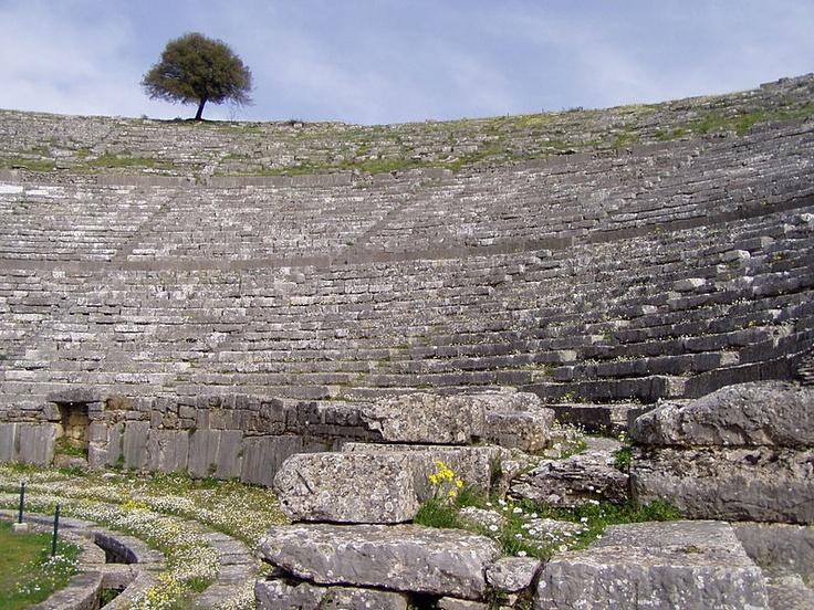 File:Ancient Greek theatre in Dodona 5.jpg