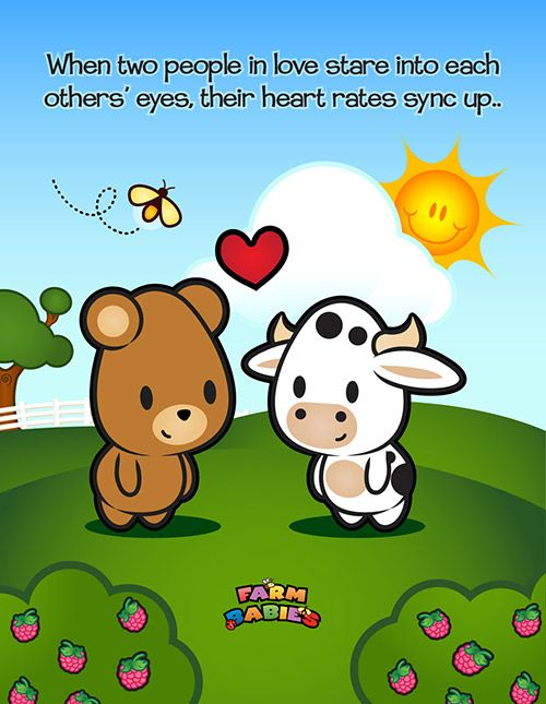 Farm Babies / #kawaii #cute #love #quotes #illustration #baby #farm #animals #cartoon #bear #cow