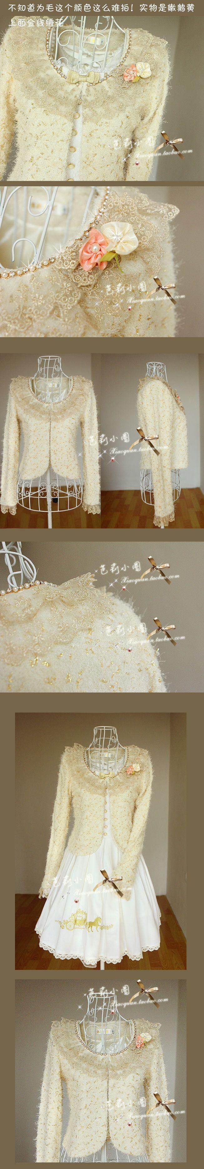 Eksklusiv lolita kjole aristokratisk Familier sirkel datter Princess måke strass strikke Små ting tjære 8303 - Taobao