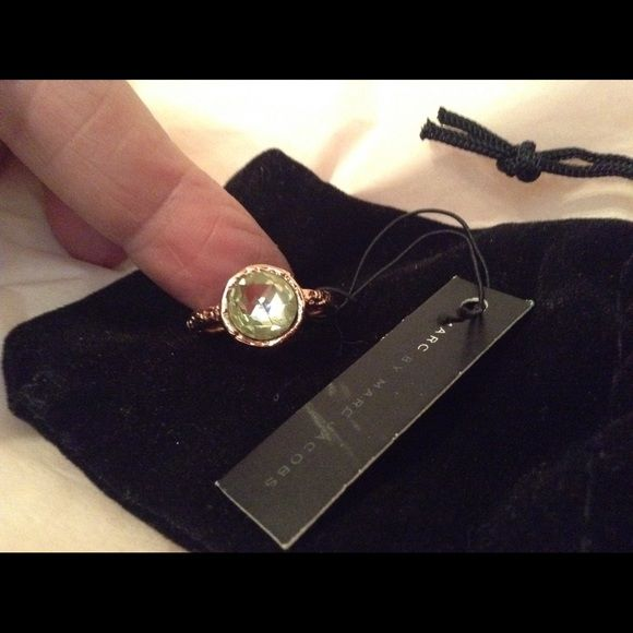 Marc by Marc Jacobs Jewelry - Marc by Marc Jacobs Rose Gold Toned Ring, NWT