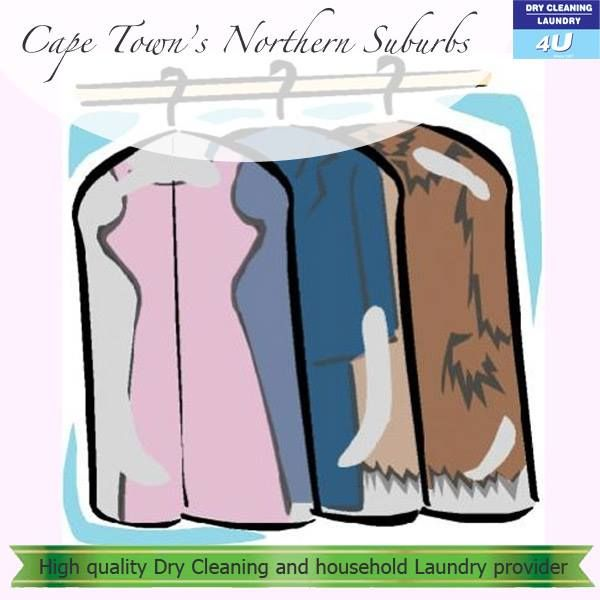 What can we do for you? Glad you asked: quality dry cleaning, household laundry & ironing, alterations & repairs, dye, carpet & rug cleaning, shoe repairs. For more information, visit http://drycleaning4u.co.za