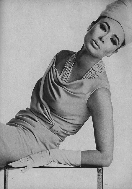 Sondra Peterson, March Vogue 1963 by dovima_is_devine_II on Flickr.  #Irving Penn #my scan