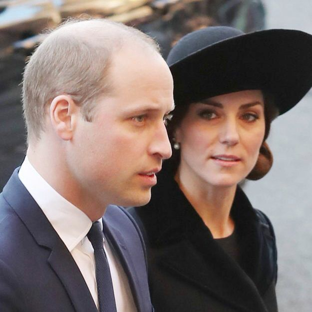 William and Kate arrived at Chester Cathedral to pay tribute to the Duke of Westminster at Somber Memorial Service