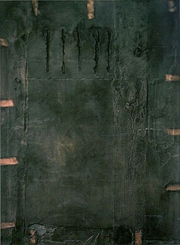 thealteredpage:    by antoni tapies
